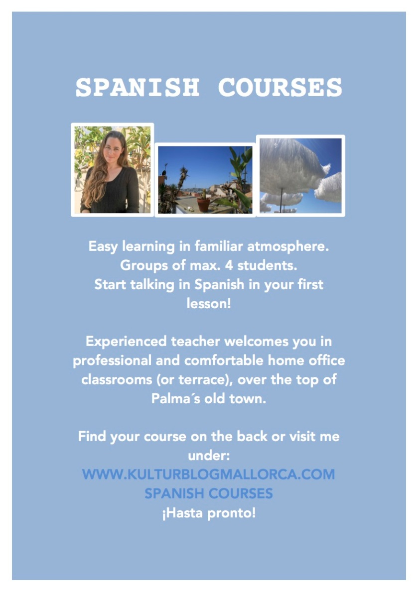 SPANISH COURSES.S.1.english